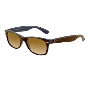 Ray-Ban RB2132 NEW WAYFARER Top Havana Beige Sunglasses