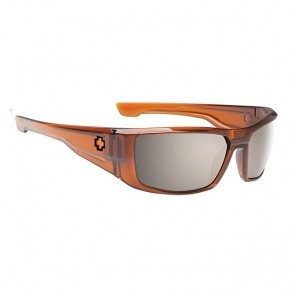 Spy DIRK Brown Ale - Happy Brownz Polarized Black Mirror Sunglasses