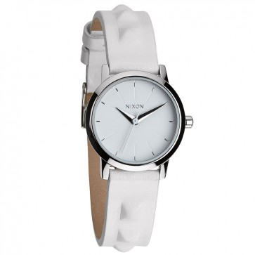 Nixon KENZI Leather All White with  Studded Watch-A398-1811