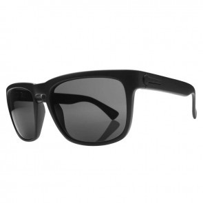 Electric KNOXVILLE Matte Black Melanin Grey Sunglasses