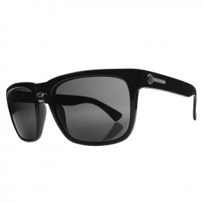 Electric KNOXVILLE Gloss Black Grey Glass Polarized Sunglasses