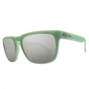 Electric KNOXVILLE Transistor Green Melanin Grey Silver Chrome Sunglasses