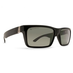 Dot Dash Lads Black Satin / Grey Polarized Sunglasses