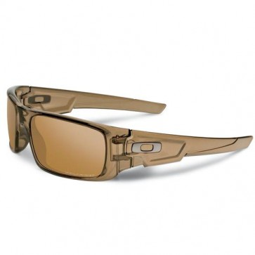 Oakley CRANKSHAFT Brown Smoke  Tungsten Iridium Polarized sunglasses-OO9239-07