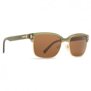 VonZipper MAYFIELD Green Translucent with Bronze Sunglasses-SMRF1MAY-GRB