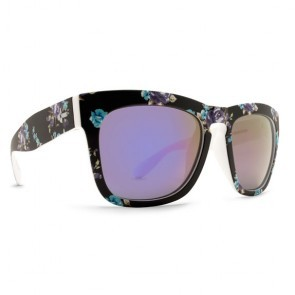 Dot Dash Skadoosh Fiji Floral / Pink Chrome Sunglasses