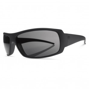 Electric CHARGE Matte Black Melanin Grey Sunglasses