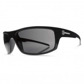 Electric TECH ONE Gloss Black Melanin Grey Polarized Level 1 Sunglasses