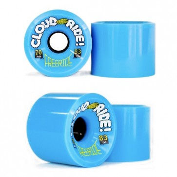 Cloud Ride Freeride 70mm / 83a Longboard Wheels