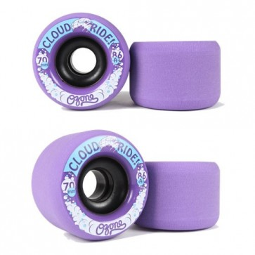 Cloud Ride Ozone 70mm / 86a Longboard Wheels