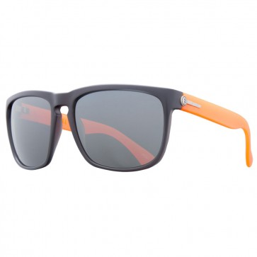 Electric KNOXVILLE XL Mod Warm Red Melanin Grey Silver Chrome Sunglasses
