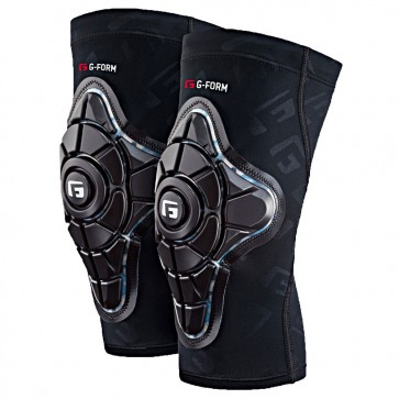 G-Form Pro X Knee Pads - Black / Teal Camo Main