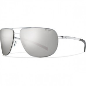 Smith LINEUP Matte Silver Polarized Platnm Sunglasses