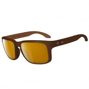 Oakley HOLBROOK Matte Rootbeer with Bronze Polarized sunglasses-oo9102-03