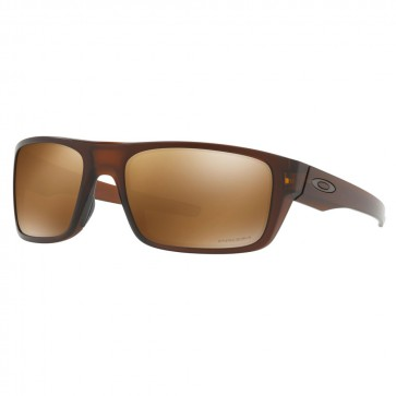 Oakley DROP POINT Matte Rootbeer Prizm Tungsten Polarized Sunglasses