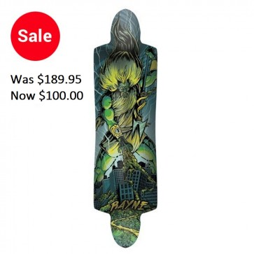 Rayne K. Rimes Kill Switch Longboard Deck - Green (2011)