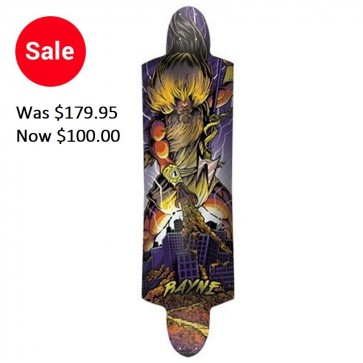 Rayne K. Rimes Mini Kill Switch Longboard Deck - Purple (2011)