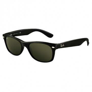 Ray-Ban RB2132 NEW WAYFARER Black G-15 XLT Sunglasses
