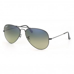 ray ban blue gradient green polarized