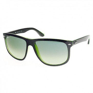 c2336e63d6 Ray-Ban RB4147 Sunglasses in Top Black on Green Gradient