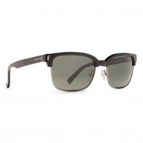 VonZipper MAYFIELD Black Satin with Grey Poly Polarized Sunglasses-SMPF7MAY-BSP