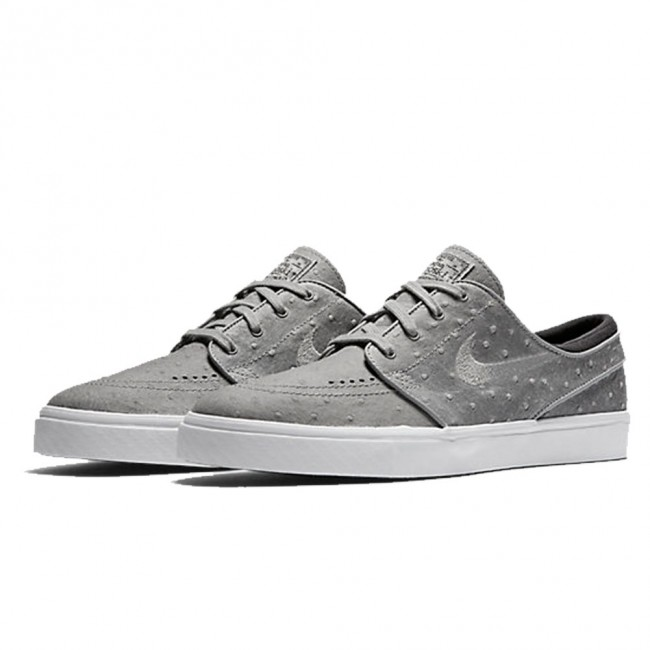 Nike SB Zoom Stefan Janoski Leather Dust / Black / White / Dust Skate Shoes