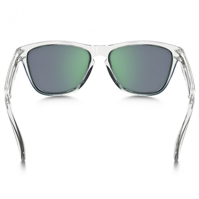 fccabd107f Oakley FROGSKINS CRYSTAL COLLECTION Polished Clear Jade Iridium Sunglasses