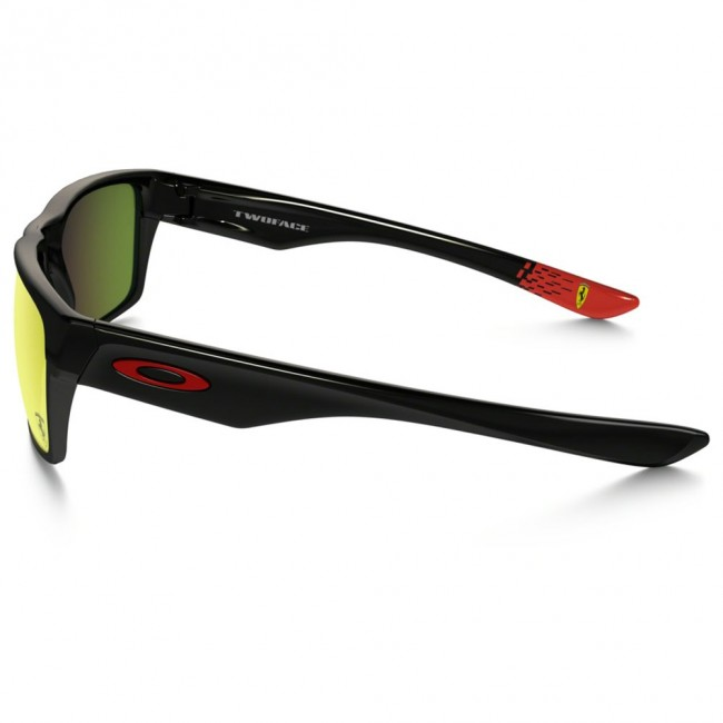 128b367321 Oakley Sunglasses TWOFACE SCUDERIA FERRARI COLLECTION Polished Black Ruby  Iridium