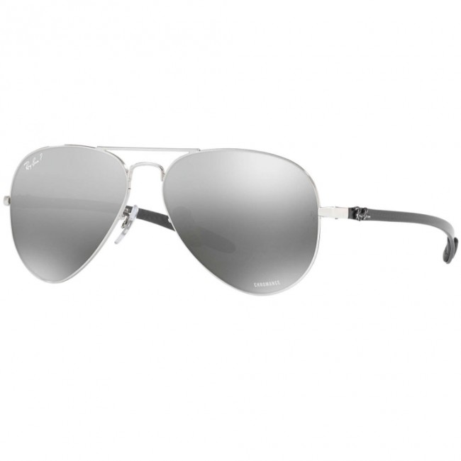 ee1b956686e Ray-Ban RB8317 Chromance 58mm Silver w  Polarized Silver Mirror Chromance  Sunglasses