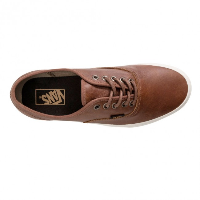 Vans Authentic Leather Shoes Dachshund Potting So