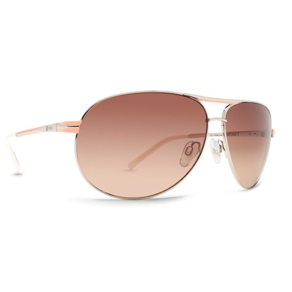 Dot Dash Buford T Coral / Gradient Sunglasses
