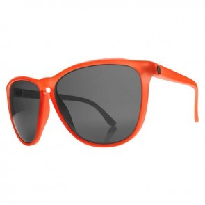 Electric ENCELIA Mod Warm Red Melanin Grey Sunglasses