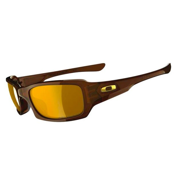 Oakley FIVES SQUARED Polished Rootbeer  Bronze Polarized sunglasses-OO9238-08
