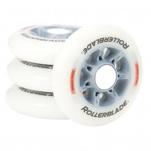 Rollerblade Active HP 90mm 84a Inline Wheels - 8 Pack