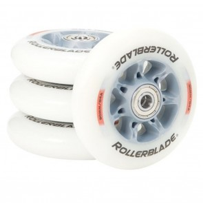 Rollerblade Active HP 90mm 84a Inline Wheels with SG-9 bearings - 8 Pack