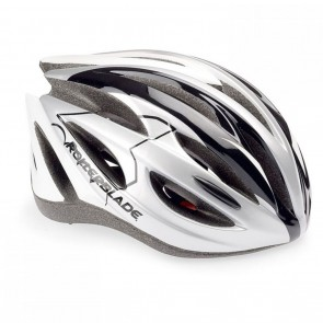 Rollerblade Performance Helmet in Silver and White