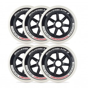 Rollerblade 125mm / 85A Hydrogen Wheels 6 Pack