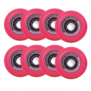 Rollerblade 80mm / 85A Hydrogen Urban Pink Wheels 8 Pack