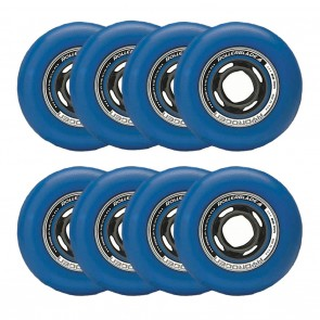 Rollerblade 80mm / 85A Hydrogen Urban Blue Wheels 8 Pack