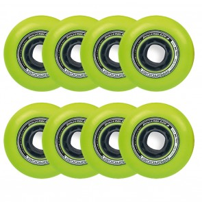 Rollerblade 80mm / 85A Hydrogen Urban Green Wheels 8 Pack
