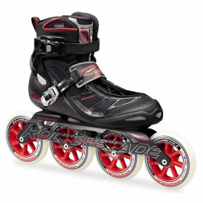 Rollerblade Tempest 110 Black and Red Inline Skates
