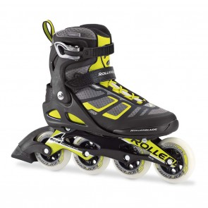 Rollerblade Macroblade 90 Black and Lime Inline Skates