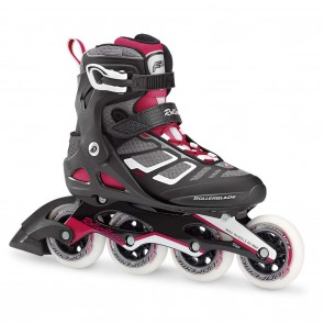 Rollerblade Macroblade 90 W Black and Cherry Womens Inline Skates
