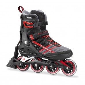 Rollerblade Macroblade 84 ABT Black and Red Inline Skates
