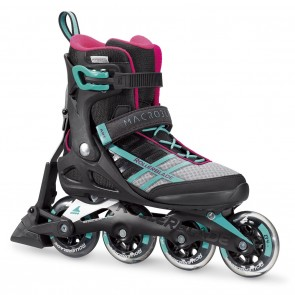Rollerblade Macroblade 84 W ABT Emerald Green and Cherry Womens Inline Skates