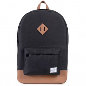 Herschel Heritage Black Skate Backpack