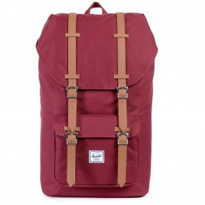 Herschel Little America Windsor Wine / Tan Skate Backpack