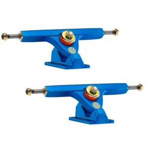 Caliber II 184mm 10in 44 Degree Satin Blue Longboard Trucks Main