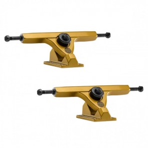 Caliber II 184mm 10in 44 Degree Satin Gold Longboard Trucks-Main