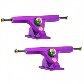 Caliber II 184mm 10in / 44 degree Satin Purple Longboard Trucks Main
